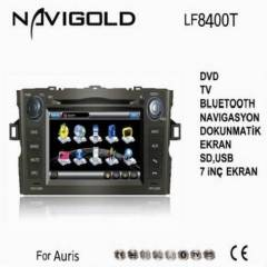 TOYOTA AURİS MULTİMEDİA DVD TV BT GPRS OEM