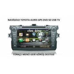 TOYOTA AURİS MULTİMEDİA DVD TV BT OEM