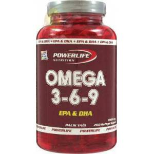 Power Life Nutrition Omega 3-6-9 Bal�k Ya��