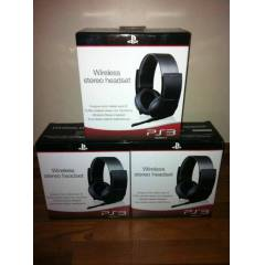 SONY PS3 WİRELESS STEREO KULAKLIK 7.1 HEADSET