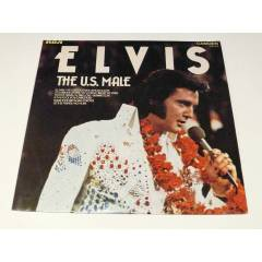 ELVİS PRESLEY - Elvis The U.S. Male , LP 1975