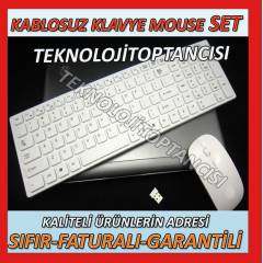 LAPTOP NOTEBOOK SLİM KABLOSUZ KLAVYE MOUSE SETİ