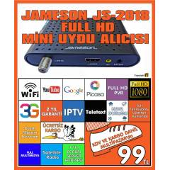 JAMESON JS-2018 FULL HD MİNİ UYDU ALICISI