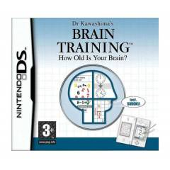 DR KAWASHIMAS BRAIN TRAINING HOW OLD IS YOUR DS