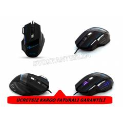 EVEREST GAME MOUSE-OYUNCU MOUSE 6 TUŞLU