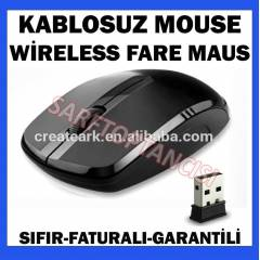 KABLOSUZ WİRELESS MOUSE LAPTOP PC 1600 DPI