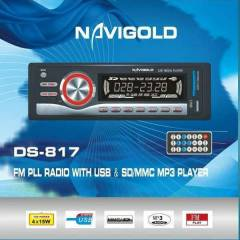NAVIGOLD DS-817 15Wx4 RADIO SD USB MP3 OTO TEYP