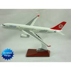 MODEL METAL UÇAK AIRBUS A330 31CM TURKISH