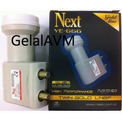 Next Çiftli LNB YE-666 Gold FULL HD