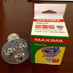 MAXIMA -6 ADET- Power Led Spot 3x1W
