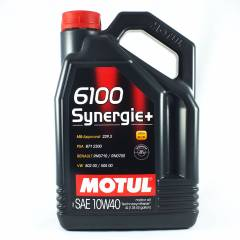 Motul 6100 Synergie+ 10W40 Ultra Performance Mot