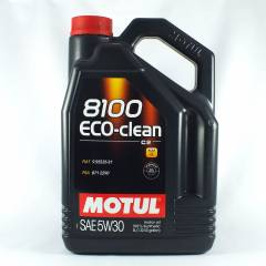 Motul 8100 Eco-clean+ 5W30 Ultra Performance Mot