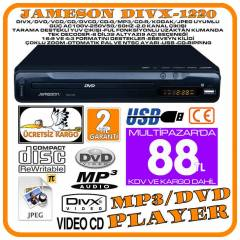 JAMESON DWIX-1220 DVD PLAYER  MEDYA OYNATICISI