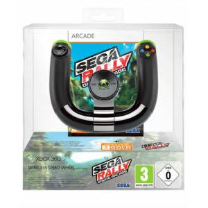 XBOX 360 MICROSOFT WIRELESS SPEED WHEEL SEGA RAL