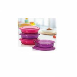 TUPPERWARE KR�STAL�N KASE 350 ML 4'L� SET