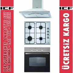 ICF Superchef Ankastre Set (7260+2921+6024)