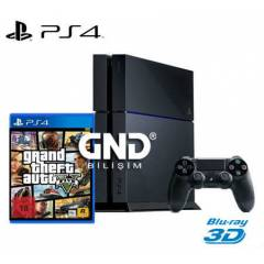 Sony PS4 500 GB + 2.Kol + GTA 5 + PS4 Kulaklık