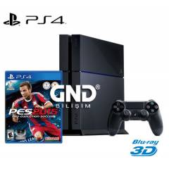 Sony PS4 500 GB + PES 2015 + PS4 Kulaklık