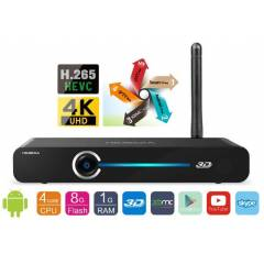Himedia Q3 Quad Core - 4K Android Smart TV Box
