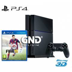 Sony PS4 500 GB + Fifa 2015 + PS4 Kulaklık