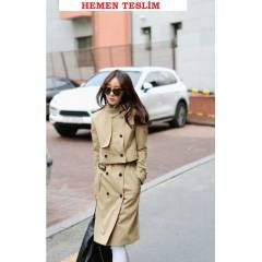 Japon Style Mysterious Trenckot