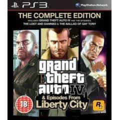 Gta IV: The Complete Edition Ps3 Oyunu (Gta 4)