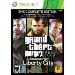 GTA 4 THE COMPLETE EDITION XBOX 360 SIFIR