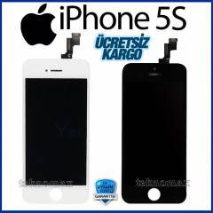 Apple iPhone 5S LCD Ekran + Dokunmatik +2Jelatin