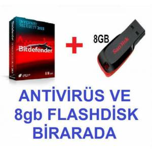 Bitdefender �nternet Security 1y�l 1pc lisansl�