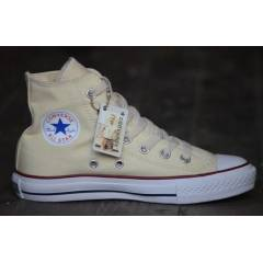 Orjinal Converse All Star White M7650 Krem Uzun