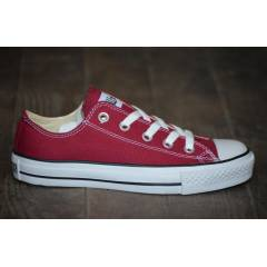 Orjinal Converse All Star M9691 Bordo Kısa
