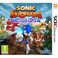 Sonic Boom Shattered Crystal 3DS OYUN PAL SIFIR