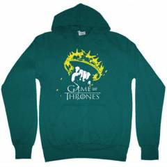 Game Of Thrones Taç Kapşonlu Sweatshirt