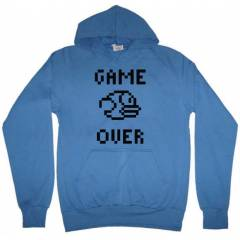 Flappy Bird Game Over Kapşonlu Sweatshirt