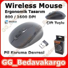 WOZLO Wireless Mouse - Kablosuz Mouse