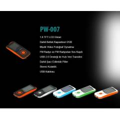 POWERWAY 2 GB  MP4 PLAYER KULAKLIK HEDİYELİ