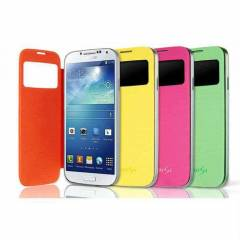 SAMSUNG GALAXY S4 KILIF S-ViEW FLiP COVER PENCER
