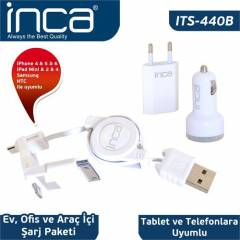 Inca ITS-440B iPad 2/New iPad/iPad 4/iPad Beyaz