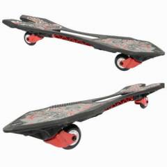OXELO WAVEBOARDS  JR BLACK / SKULLS KAYKAY