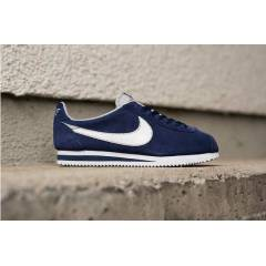 NIKE CLASSIC CORTEZ LEATHER NAVY  SUEDE