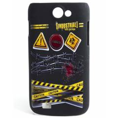 Samsung Galaxy Wonder Kılıf  Caution