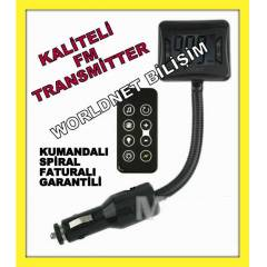 Araç oto Fm Transmitter MP3 Player Çakmaklık  23