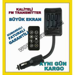 Araç oto Fm Transmitter MP3 Player Çakmaklık  21