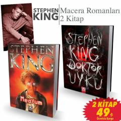 Stephen King -Doktor Uyku ve Medyum 2 Kitap Set