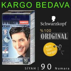 SCHWARZKOPF MEN PERFECT 90  SİYAH JEL BOYA