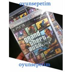 GTA 5 GRAND THEFT AUTO 5 PS3 OYUNU STOKTAN