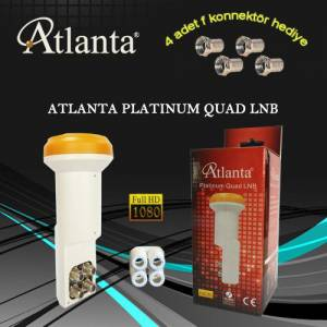 ATLANTA PLATINUM QUAD LNB (FULL HD - D�rt ��k��l