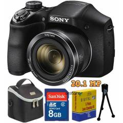 Sony H300 35x Zoom 20.1MP HD Fotoğraf Makinesi