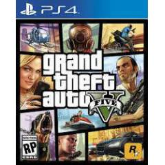 PS4 GTA 5 GRAND THEFT AUTO PS4 GTA V 2.BÖLGE PAL