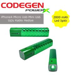 CODEGEN IF28-G Mini-Micro USB Uyumlu 2800 mAh Li